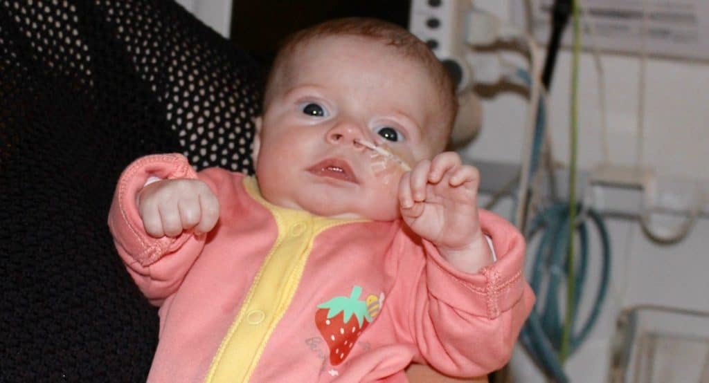 Organspende: Herztransplantation bei Baby Sophia