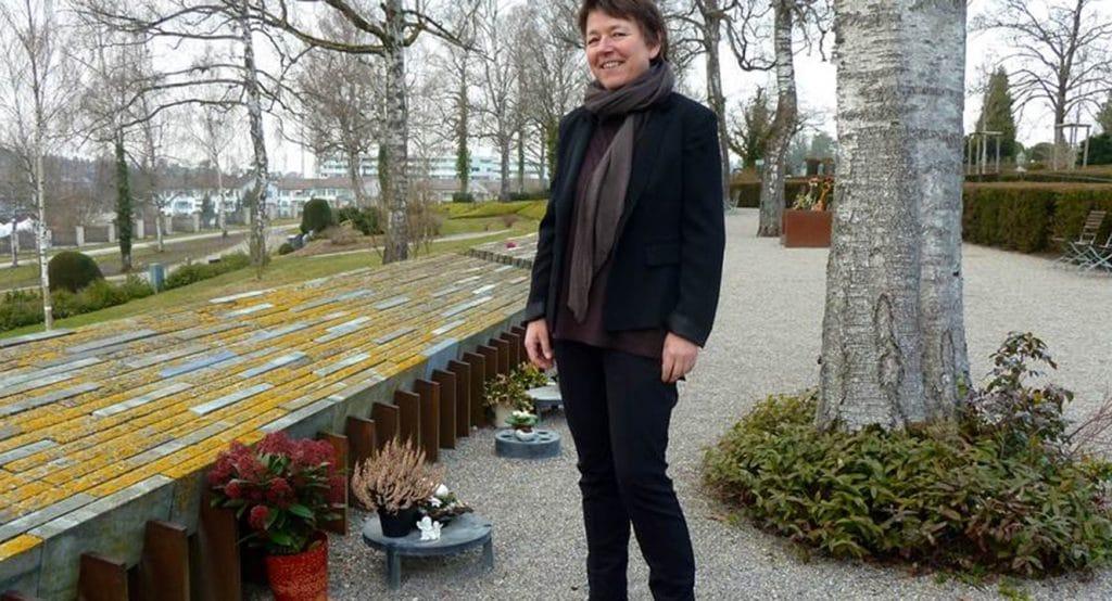 Respekt: Christine Farner Breu, Leiterin Friedhofverwaltung, Stadtgrün Winterthur