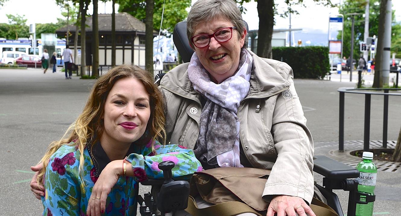 Anna Rossinelli und Dorette Lüdi