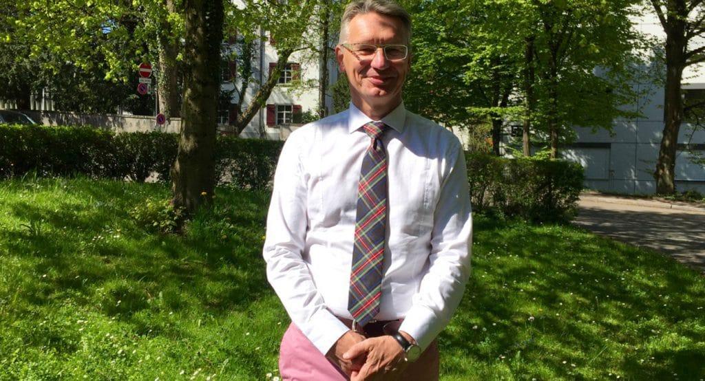 ALS-Diagnose. Dr. Markus Weber vom Muskelzentrum am Kantonsspital St. Gallen.