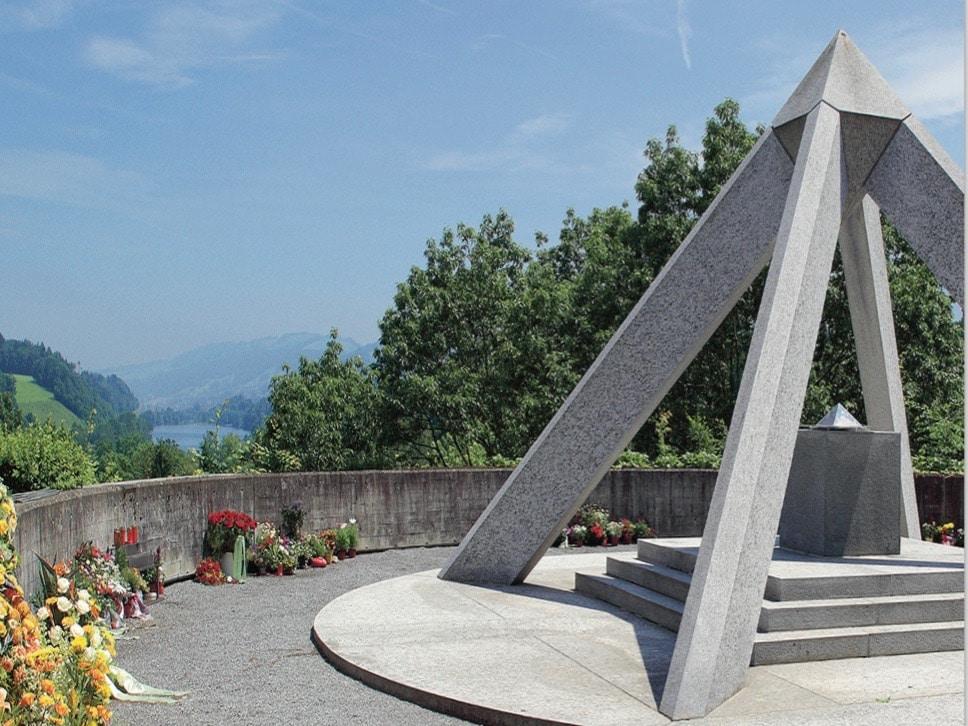 Tag des Friedhofs: die Pyramide ist eines der Wahrzeichen auf dem Luzerner Friedental