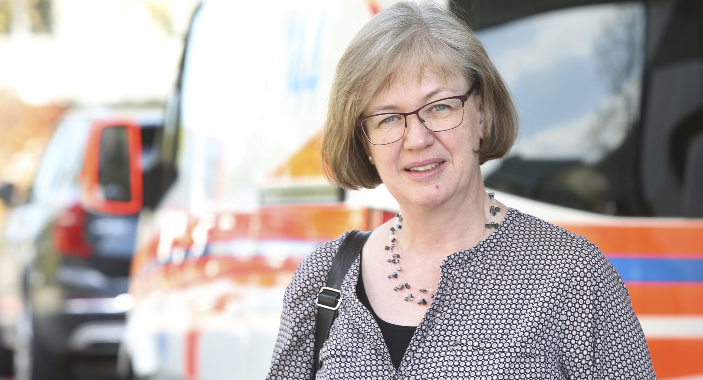 Simone Rüd, katholisch Theologin und Spitalseelsorgerin am Luzerner Kantonsspital LUKS