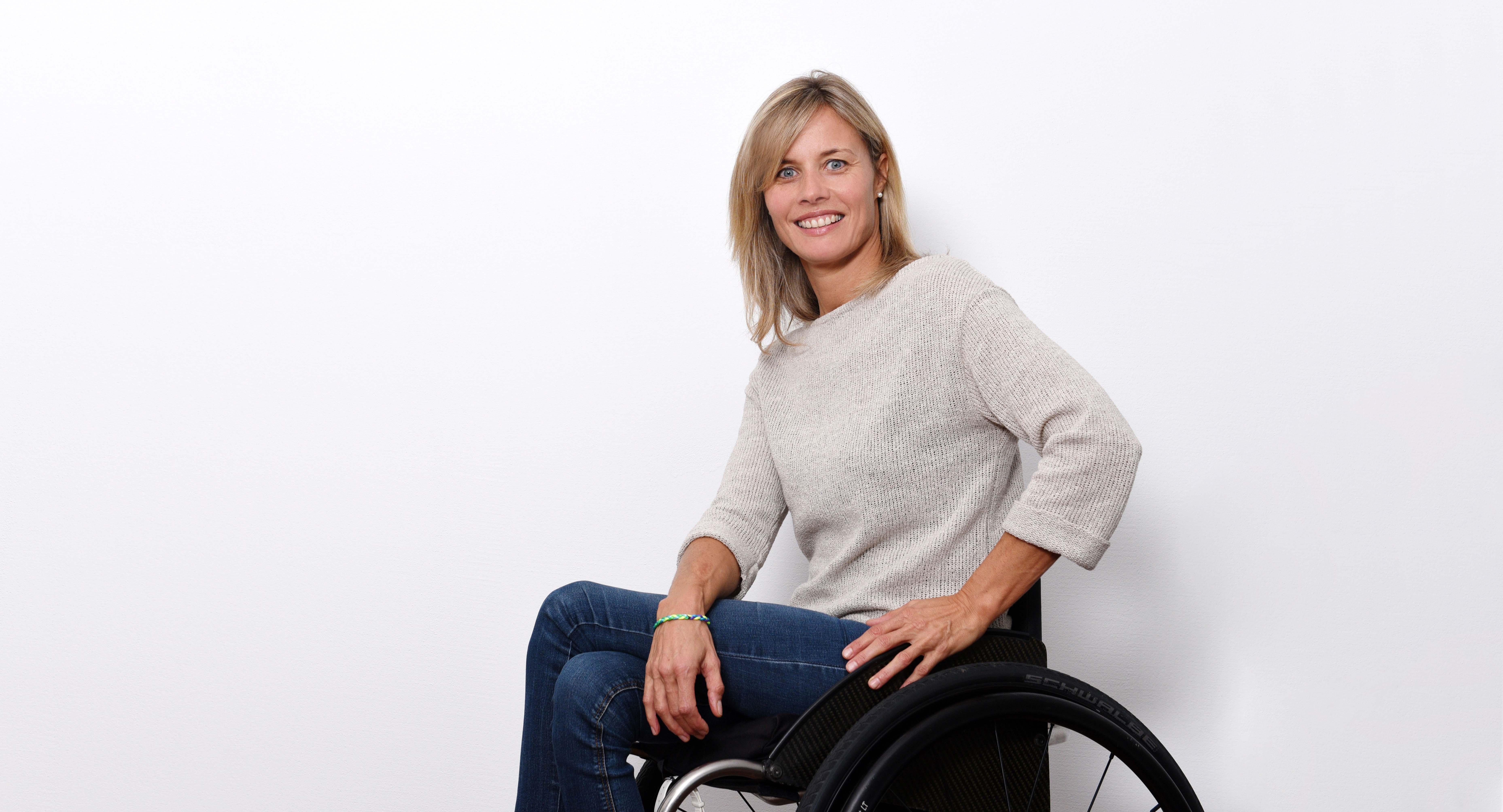 Edith Wolf Hunkeler, Rollstuhlsportlerin