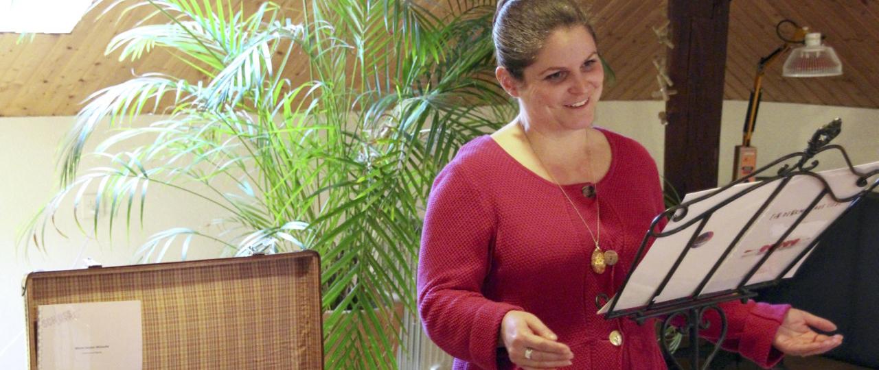 Murielle Kälin: Trauerrednerin, Sterbebegleiterin und Autorin