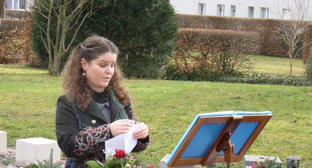 Murielle Kälin: Trauerrednerin und Sterbebegleiterin aus Olten