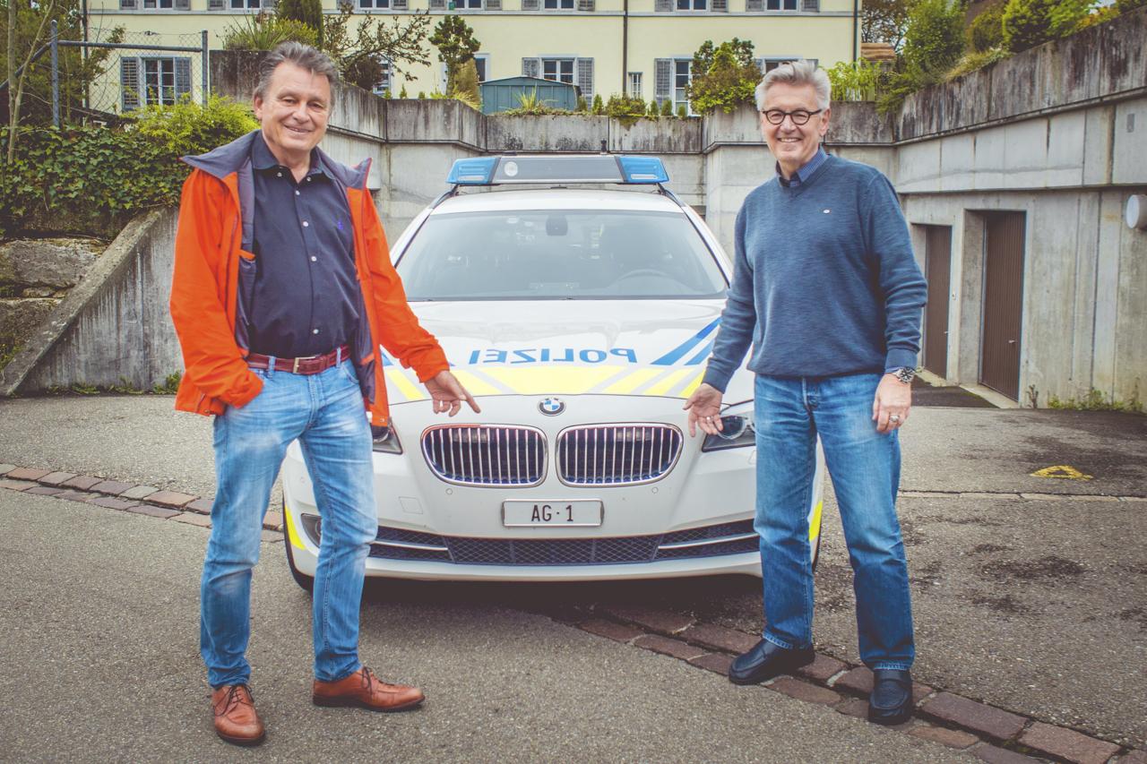 Horst Hablitz, Polizeipsychologe der Aargauer Kantonspolizei und DeinAdieu-Autor Martin Schuppli