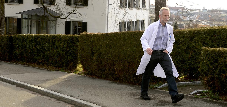 Palliativmediziner und Geriater Dr. med. Roland Kunz