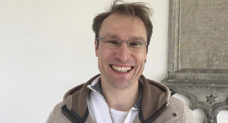 Pfarreileiter Adrian Wicki, studierter katholischer Theologe