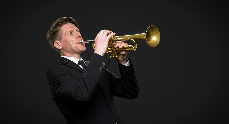 Trompeter Christoph Luchsinger