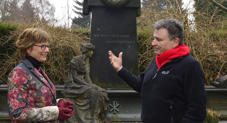 Claudia Mehl und Martin Schuppli