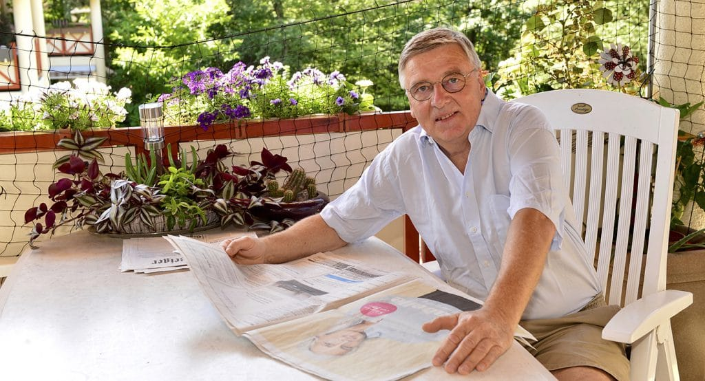 Jean-Louis Parel, langjähriger Bestatter in Uster