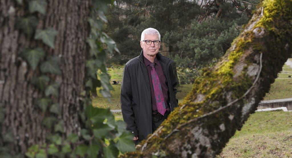 Redete über Pietät: Marc Lüthi ist Leiter Basler Bestattungsamt