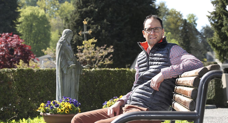 Pascal Vincent, Leiter Friedhof der Stadt Luzern