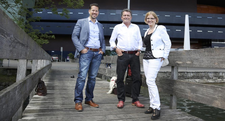Sterbefasten: Regina Aebi-Müller. Professorin für Privatrecht und Privatrechtsvergleichung an der Universität Luzern mit dem DeinAdieu-Team Gehrig und Schuppli