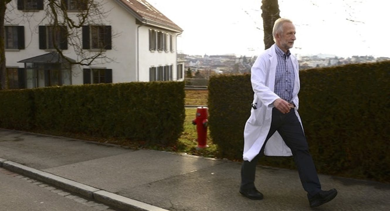 Dr. Roland Kunz, führender Palliativmediziner und Geriater in Affoltern a/A