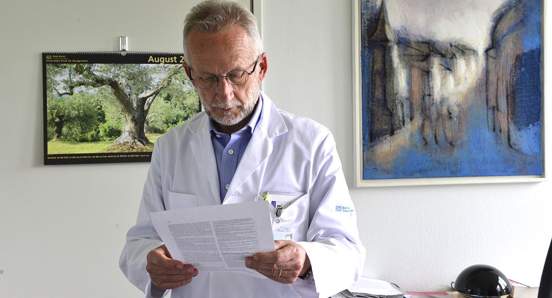 Selbstbestimmtes Lebensende: Dr. Roland Kunz, Geriater und Palliativmediziner