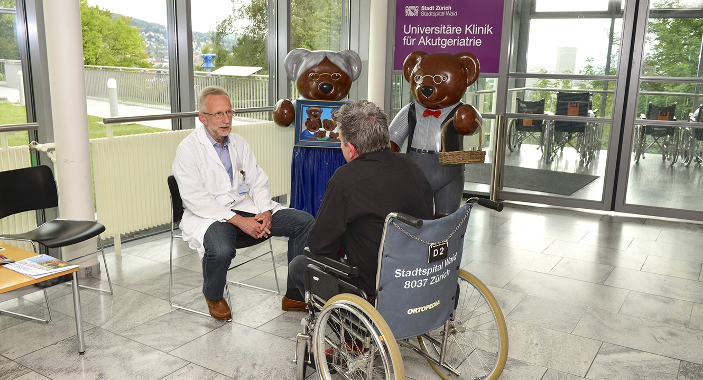 Sterbefasten: Dr. Roland Kunz, Geriater und Palliativmediziner