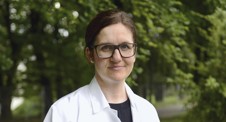 Silvia Richner, leitende Ärztin und Abteilungsleiterin Palliative Care, betreut mit ihrem Team kranke und sterbende Menschen im Zürcher Stadtspital Triemli.