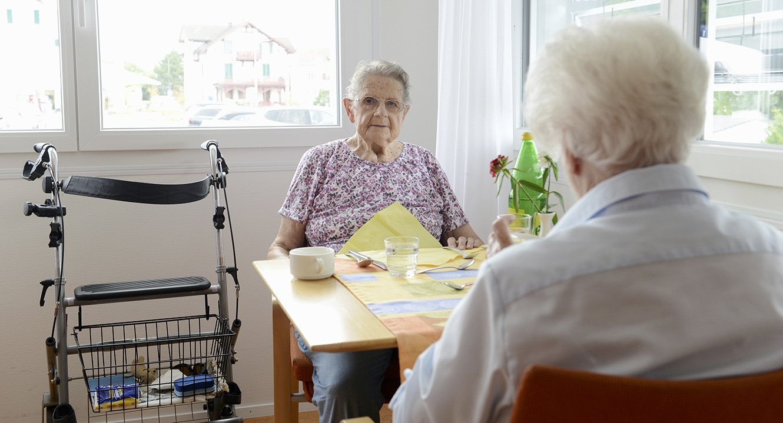 Letzte Lebensphase: Anneliese Hotz, 86, wohnt im Abegg-Huus, Rüschlikon