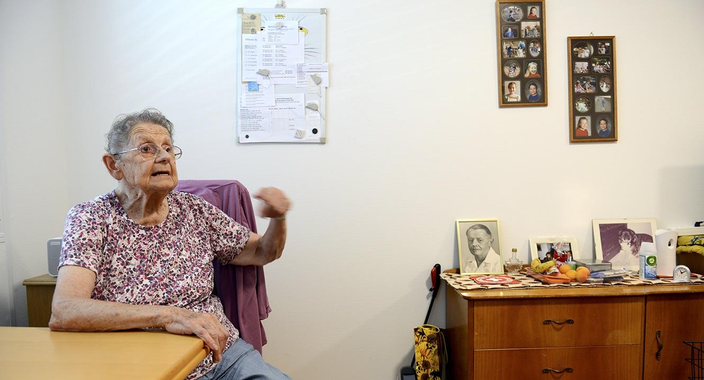 Anneliese Hotz, 86, wohnt im Abegg-Huus, Rüschlikon