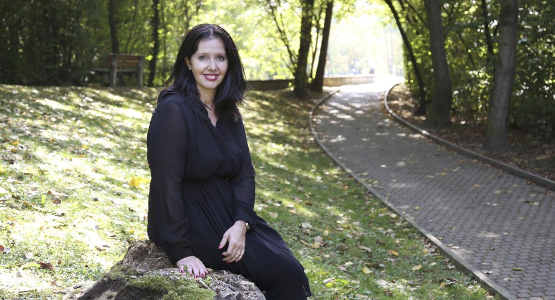 Herbstliche Trauer: Sabine Shah, Jasmina Soraya Fondation