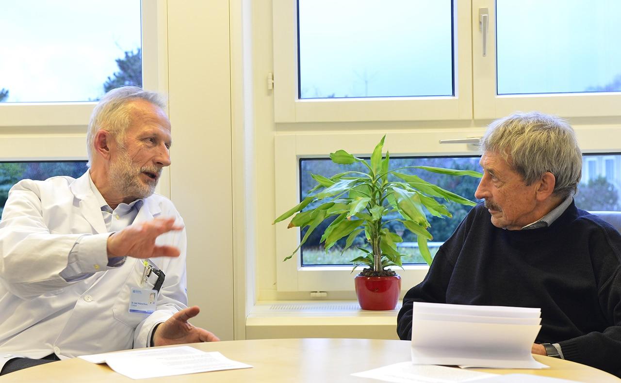 Kinderhospiz: Roland Kunz und Alois Birbaumer