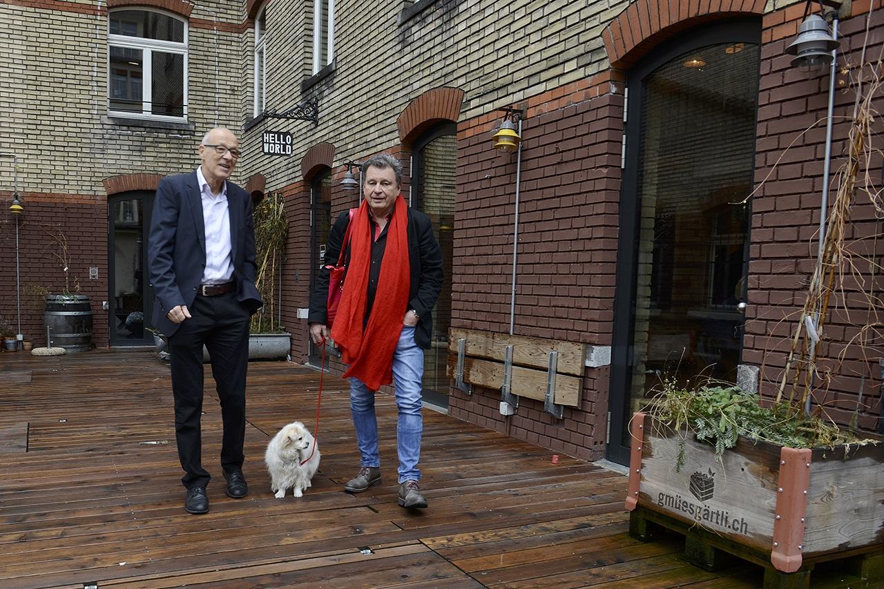 DeinAdieu-Team Jürg Wachter und Martin Schuppli