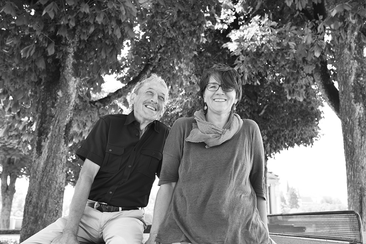 Dr. Alois Birbaumer, «liebeChristine»-Bloggerin Christine Friedli