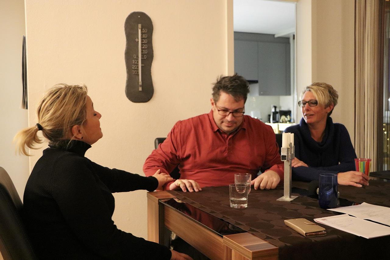 Demenz Gianluca und Nathalie De Febis mit Giselle
