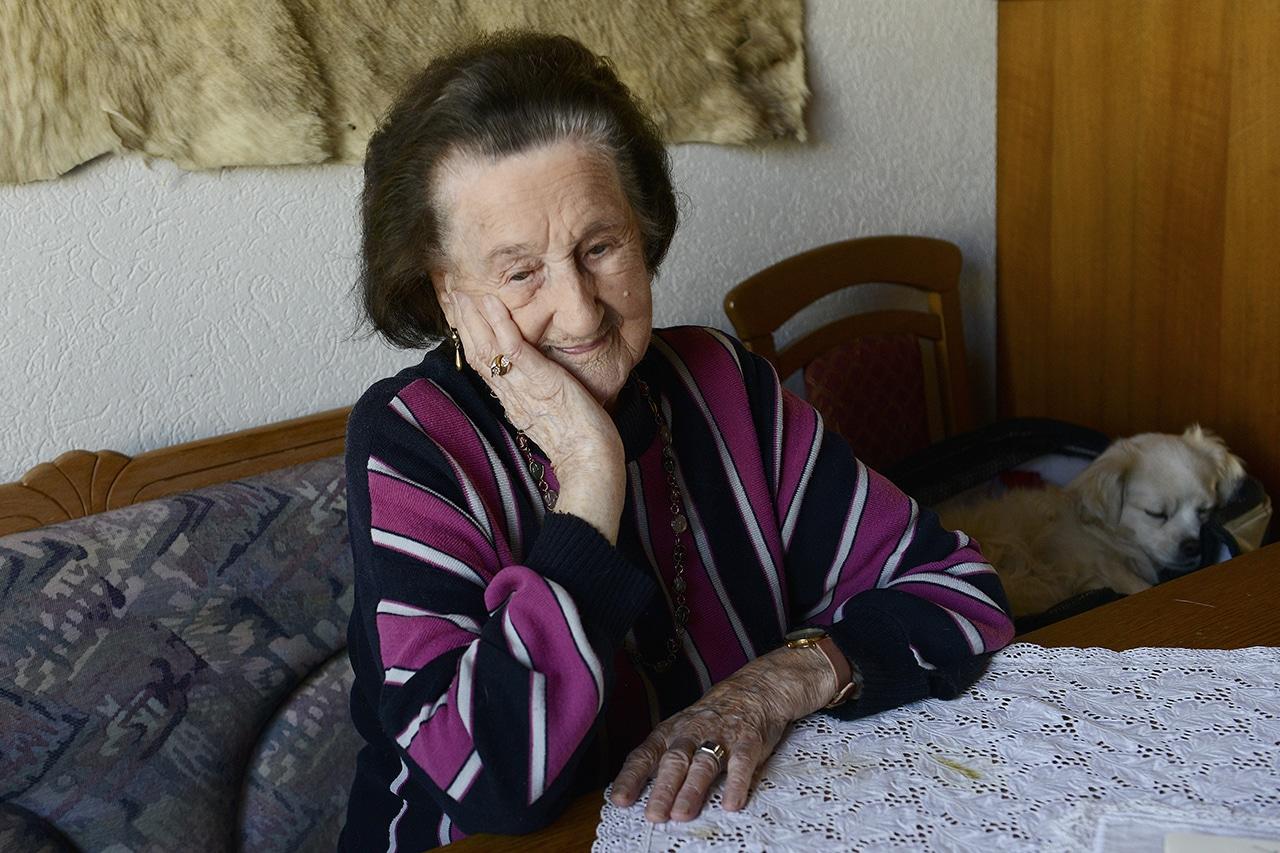 Hundertjährige Anne Ebnöther