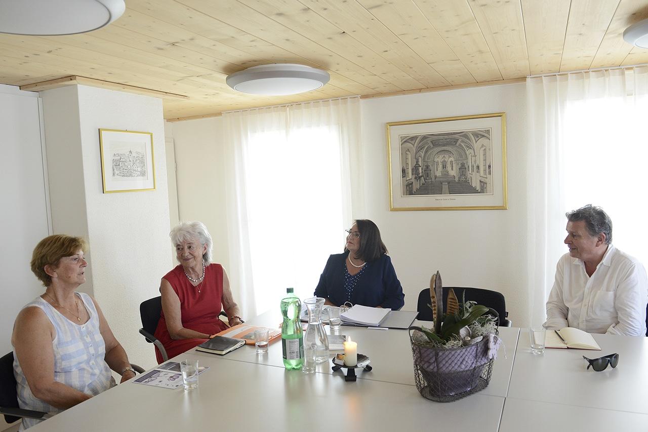 Thema Trauerbegleitung, Elsbeth, Heidi Hofer, Anita Höfer, Martin Schuppli