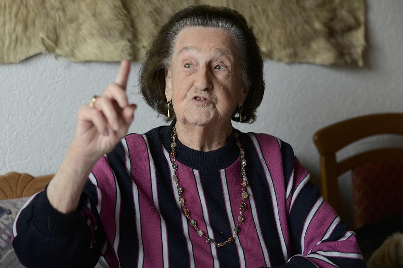 Hundertjährige Anna Ebnöther