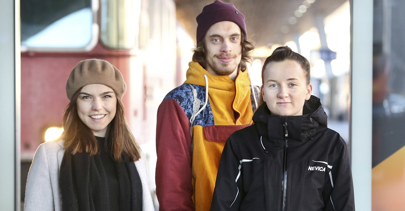 Stephanie Brändle, Nils Hänggi, Mira Güntert