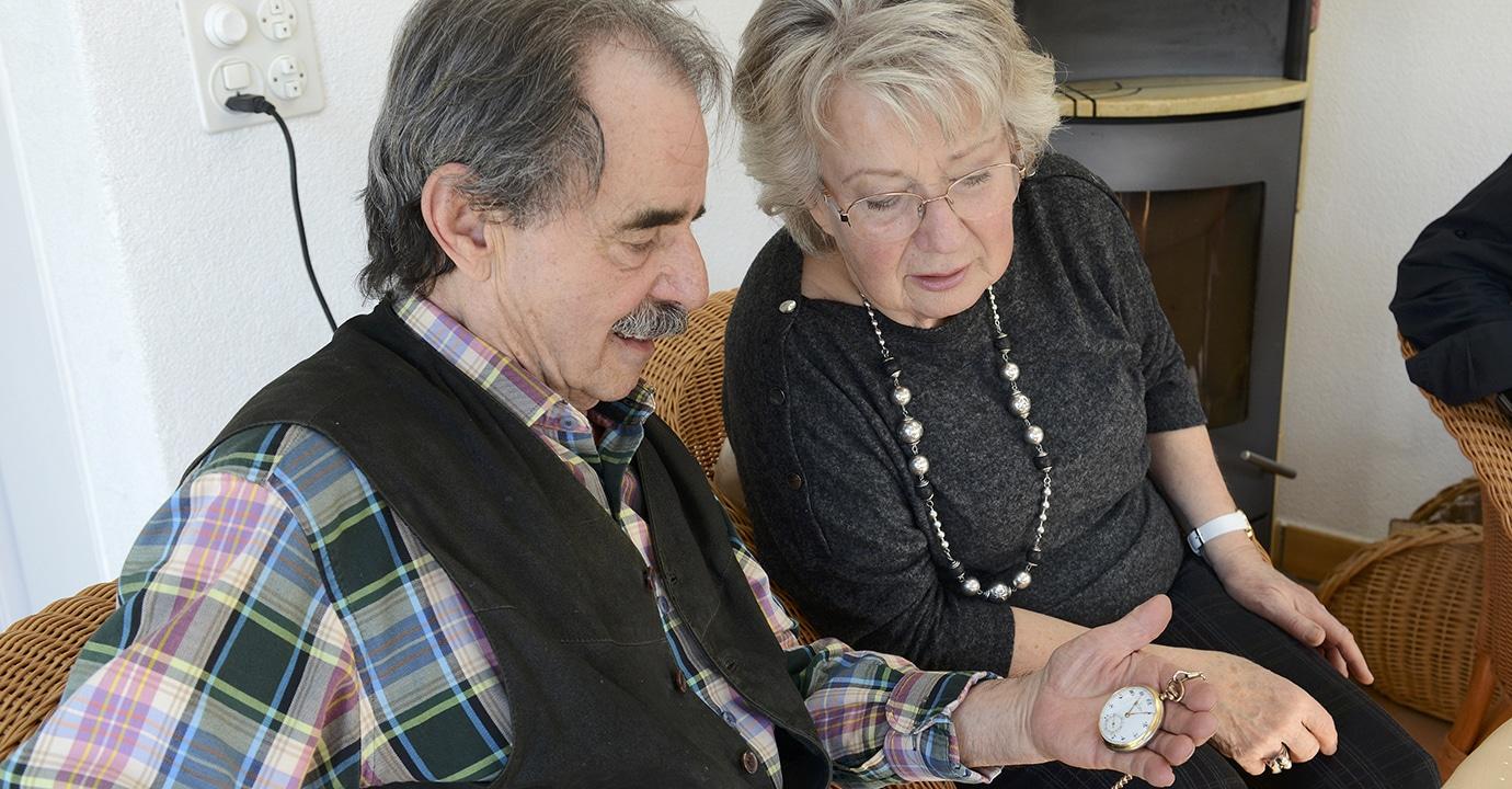 Selbstbestimmung am Lebensende. Frank und Edith Koch