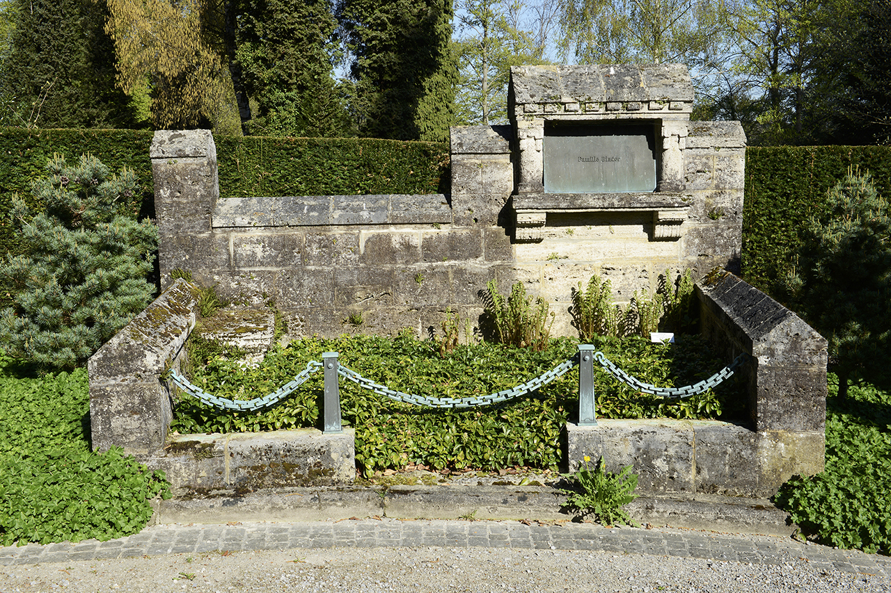 Mietgrab Friedhof Manegg, Zürich