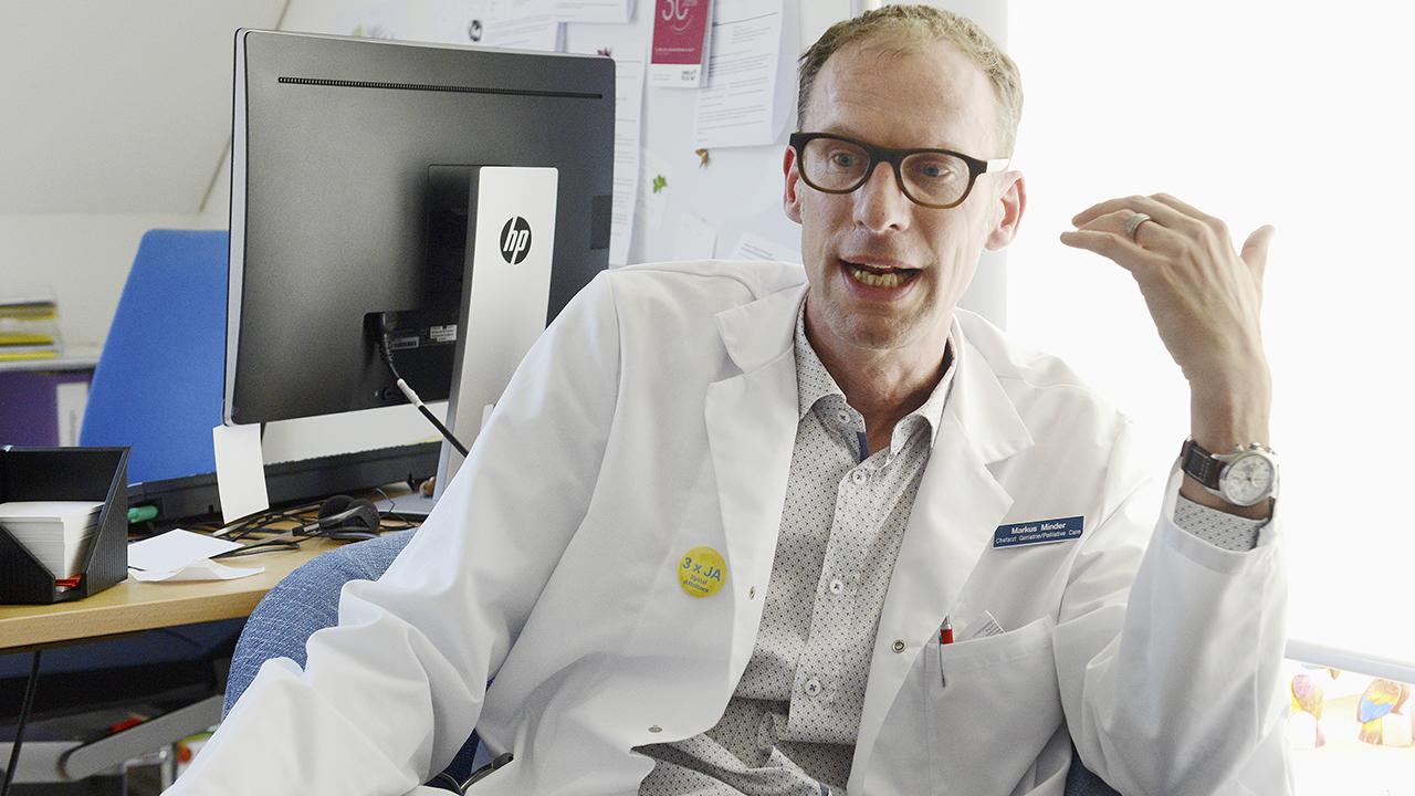 Sterben: Dr. med. Markus Minder, Chefarzt Geriatrie und Palliative Care im Spital Affoltern a./A.