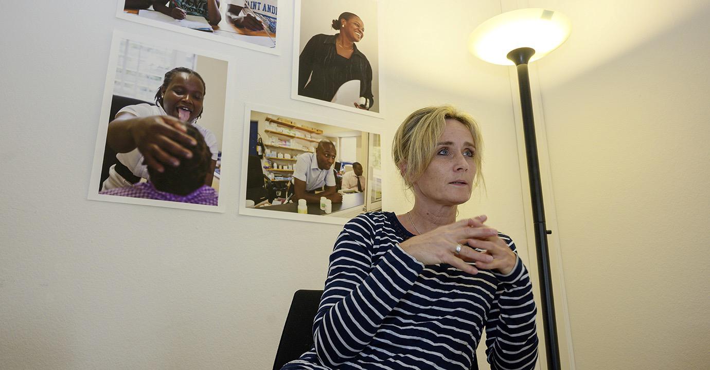 Sabine Lüthy, Geschäftsführerin der Ruedi Lüthy Fondation