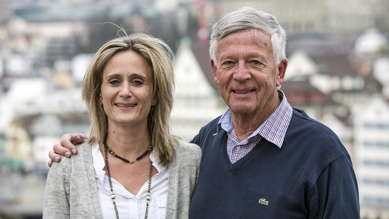 Sabine und Ruedi Lüthy