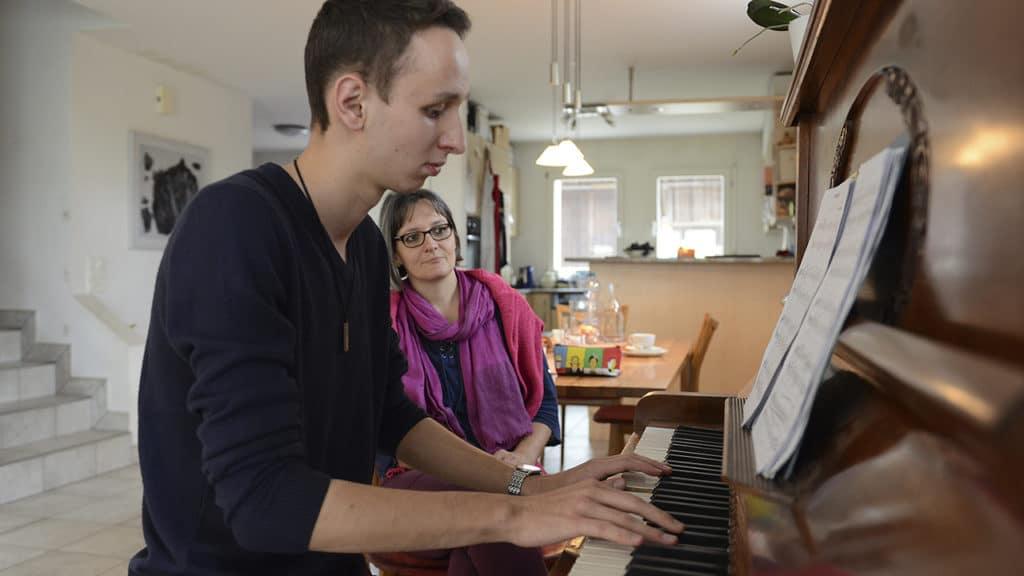 Fabian Bürgi am Piano