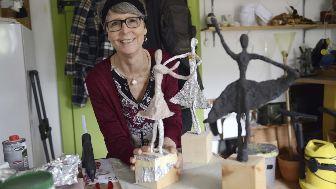 Irene Keller zeigt filigrane Objekte im Atelier