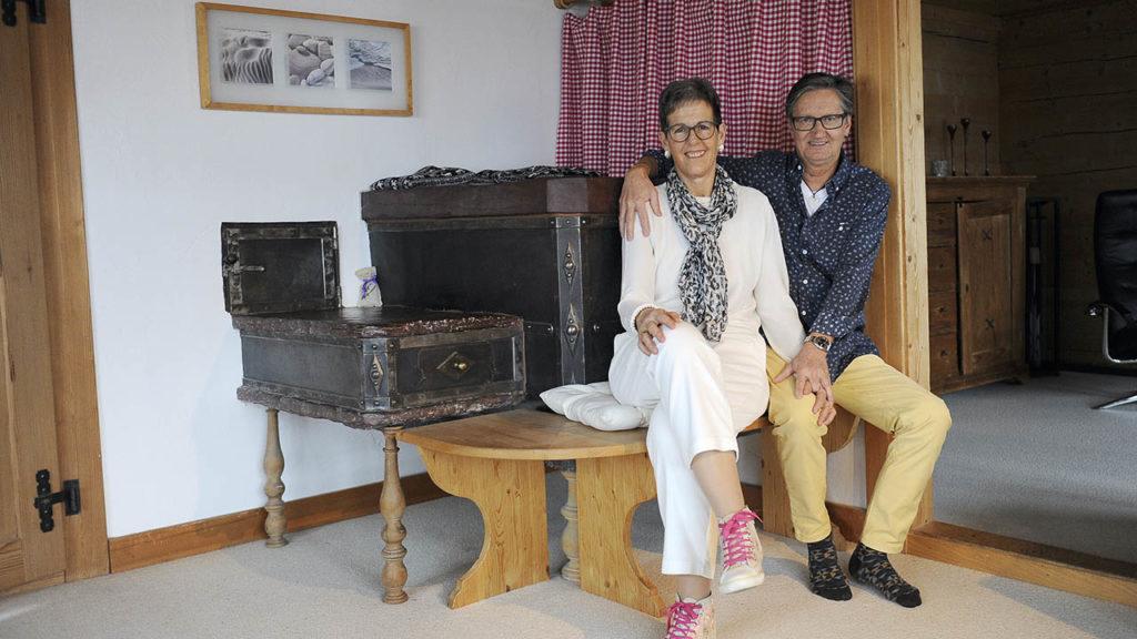 Krebs besiegt: Renate Marthy mit Ehemann Martin