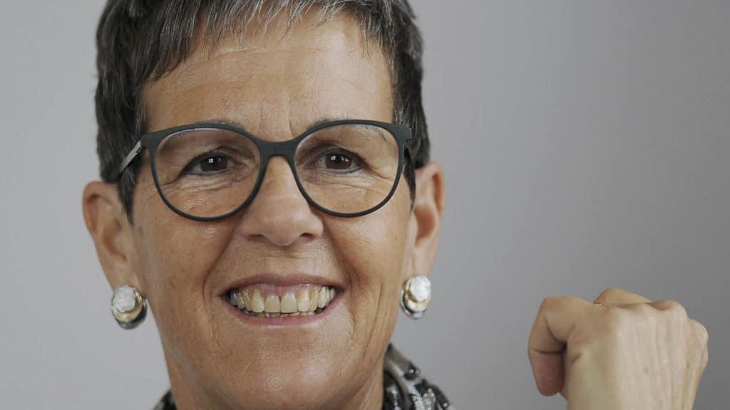 Krebs besiegt: Renate Marthy