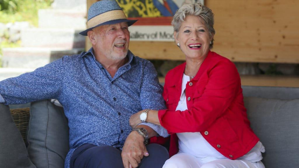 Esther Spiess mit Partner Enzo