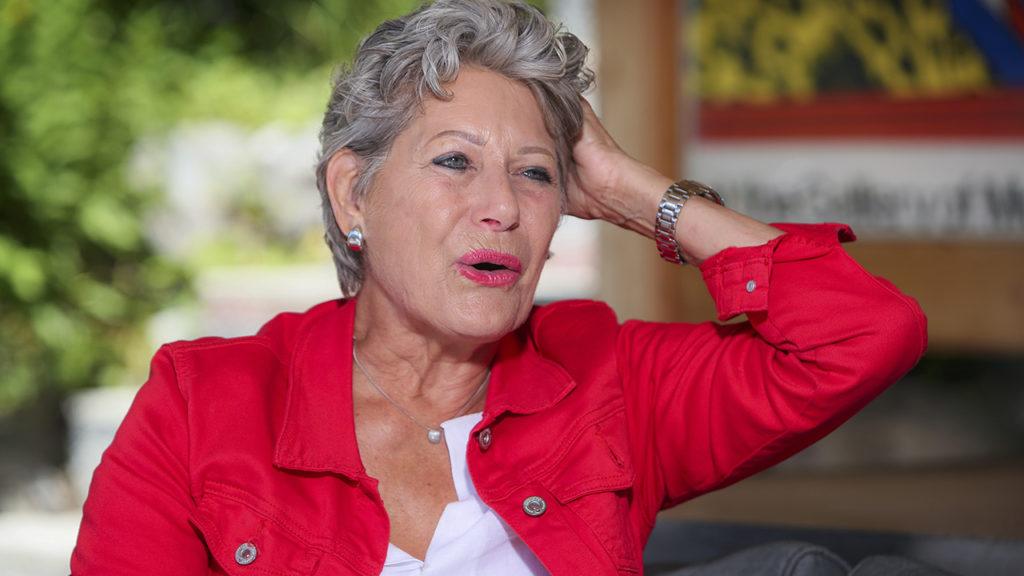 Darmkrebspatientin Esther Spiess
