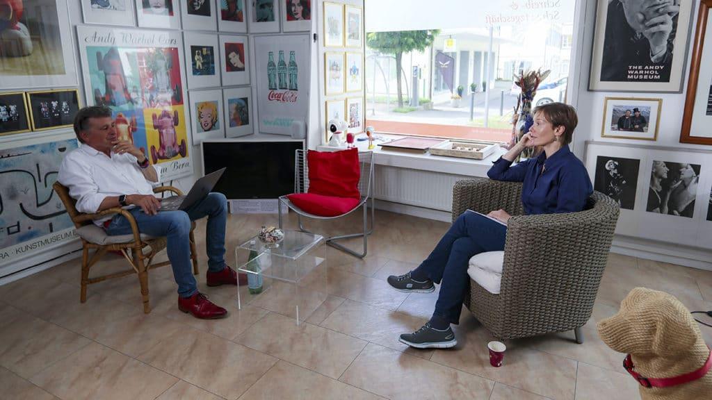Ina Bujard im Gespräch mit Ina Bujard