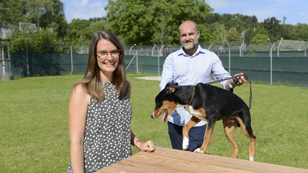 Alexandra Schmid und Marcus Rocca, Zürcher Tierschutz