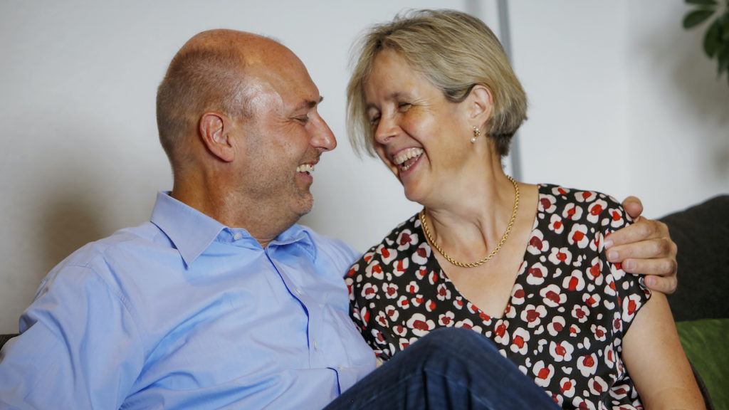Dr. Thomas Warzinek mit Ehefrau Eilisabeth