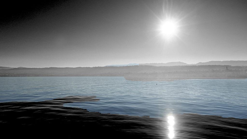 Sonnenuntergang Zürichsee